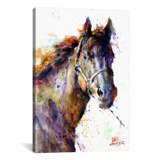 Horse III by Dean Crouser Canvas Print
