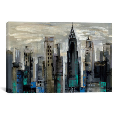 New York Moment  by Silvia Vassileva Canvas Print