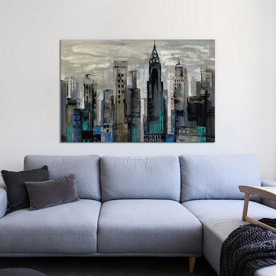 New York Moment  by Silvia Vassileva Canvas Print