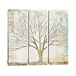 Solitary Tree Collage by All That Glitters CanvasPrint