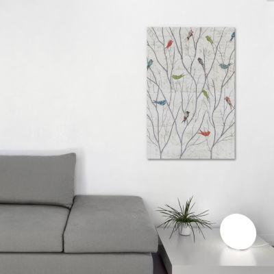 Summer Birds Background I by Courtney Prahl CanvasPrint