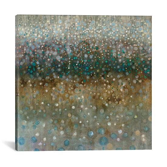 Abstract Rain by Danhui Nai Canvas Print