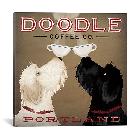 Doodle Coffee Co. by Ryan Fowler Canvas Print