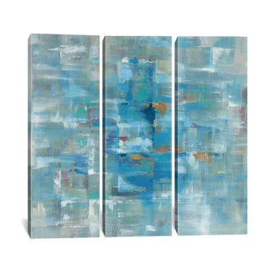 Abstract Squares by Danhui Nai Canvas Print
