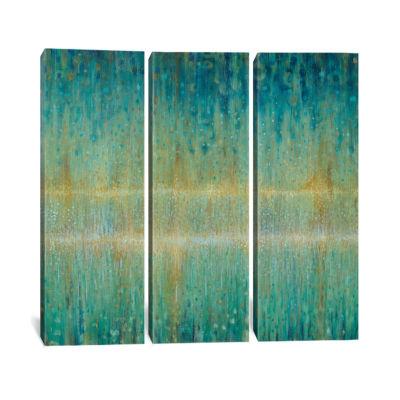 Rain Abstract I by Danhui Nai Canvas Print