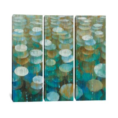 Rain Drops by Danhui Nai Canvas Print