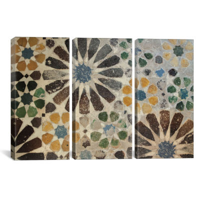 Alhambra Tile I by Sue Schlabach Canvas Print