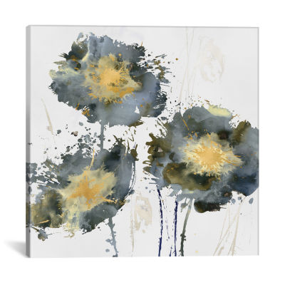 Flower Burst Trio by Vanessa Austin Canvas Print