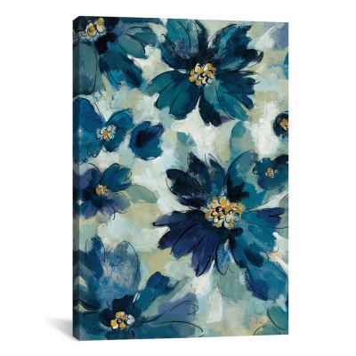 Inky Floral I by Silvia Vassileva Canvas Print