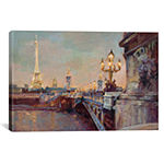 Parisian Evening Crop  by Marilyn Hageman Canvas Print