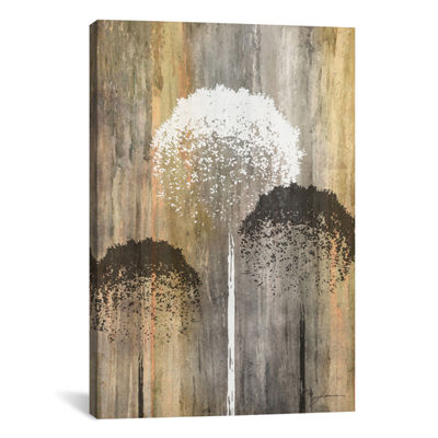 Rustic Garden I by James Burghardt Canvas Print