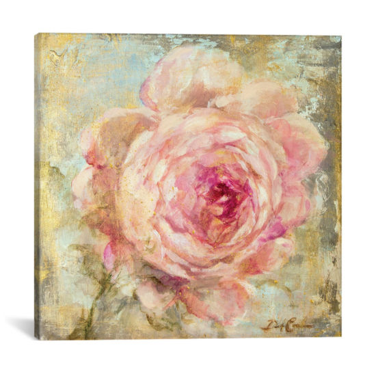 Rose Gold II by Debi Coules Canvas Print