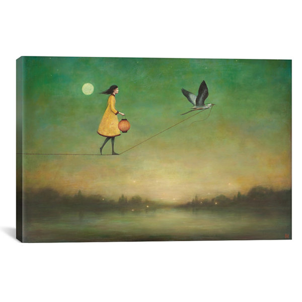 Blue Moon Expedition by Duy Huynh Canvas Print