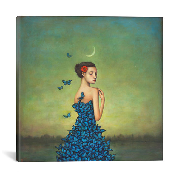 Metamorphosis In Blue by Duy Huynh Canvas Print