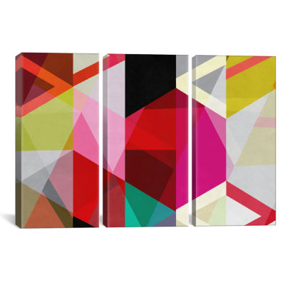Modern Art - View Through a Kaleidoscope by 5by5collective Canvas Print