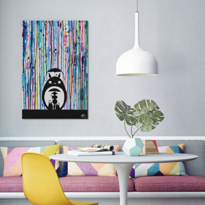 Neighbours by Marc Allante Canvas Print