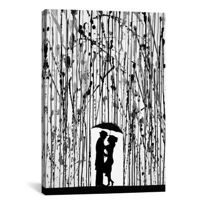 Film Noir by Marc Allante Canvas Print