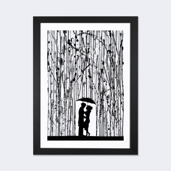Film Noir by Marc Allante Black Framed Fine Art Paper Print