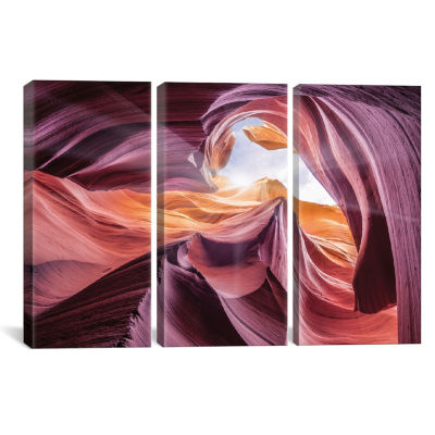 Antelope Canyon II by Moises Levy Canvas Print