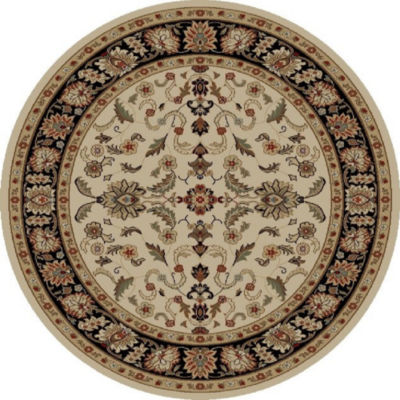 Concord Global Trading Ankara Collection Agra Round Area Rug