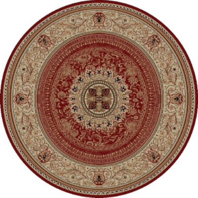 Concord Global Trading Ankara Collection Chateau Round Area Rug