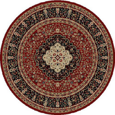 Concord Global Trading Ankara Collection Kerman Round Area Rug