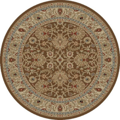 Concord Global Trading Ankara Collection Mahal Round Area Rug