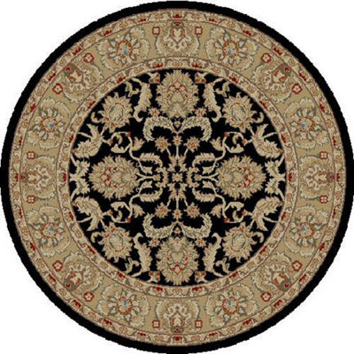 Concord Global Trading Ankara Collection Oushak Round Area Rug
