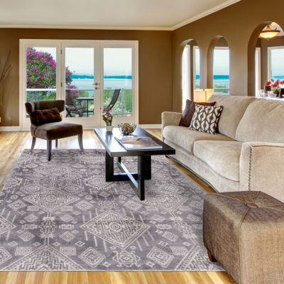 Concord Global Trading Lara Collection Santa Fe Area Rug