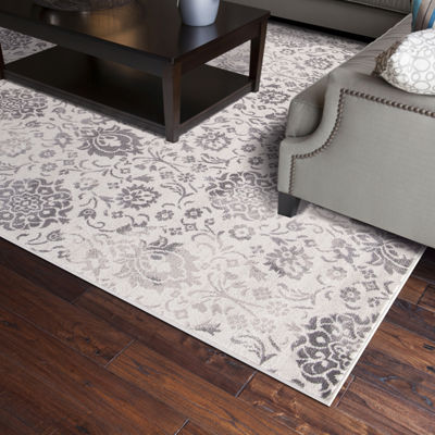 Concord Global Trading Lara Collection Soft DamaskArea Rug