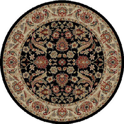 Concord Global Trading Ankara Collection Sultanabad Round Area Rug
