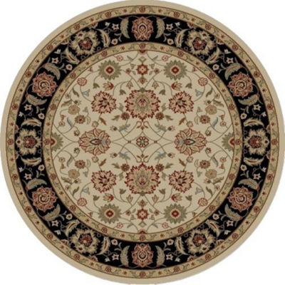 Concord Global Trading Ankara Collection Zeigler Round Area Rug