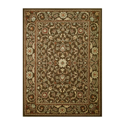 Concord Global Trading Chester Collection Flora Area Rug