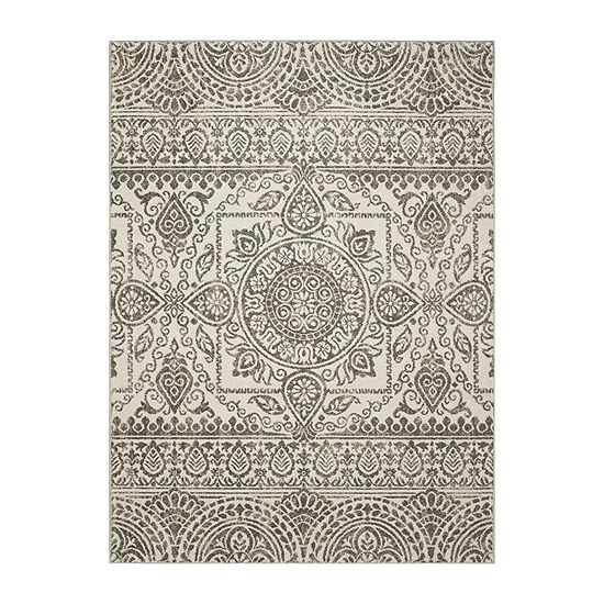 Concord Global Trading New Casa Collection Aubosson Area Rug