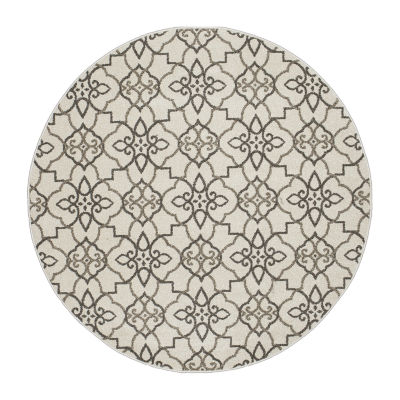 Concord Global Trading New Casa Collection Round Area Rug