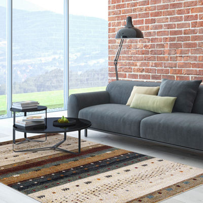 Concord Global Trading Diamond Collection Gabbeh Area Rug