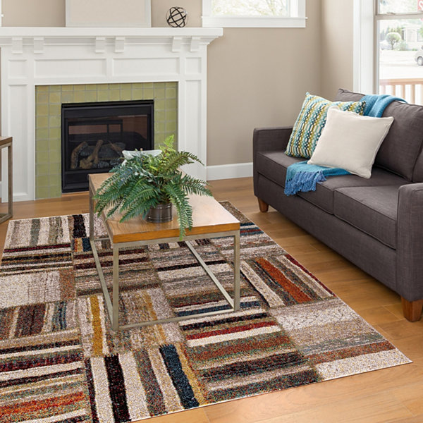 Concord Global Trading Diamond Collection Urban Area Rug