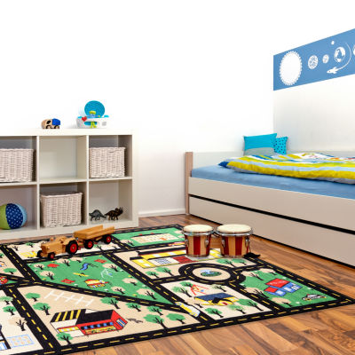 Concord Global Trading Fun Time Collection City Center Area Rug