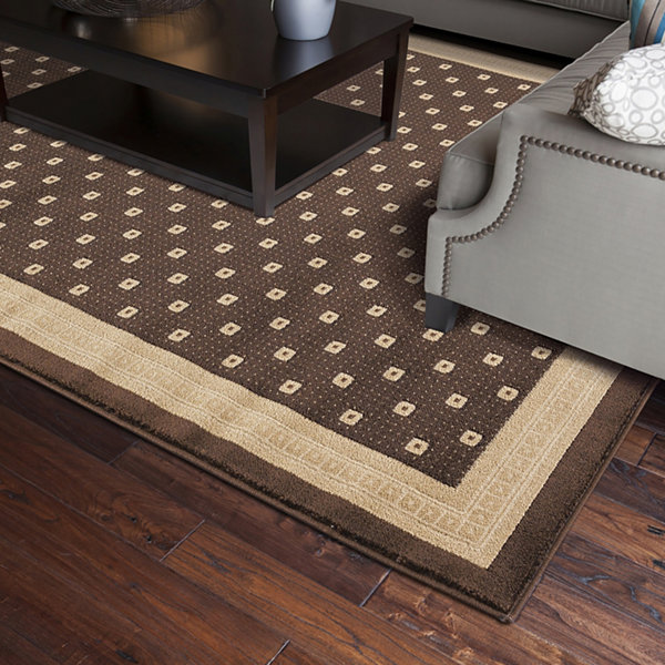 Concord Global Trading Jewel Collection Athens Area Rug