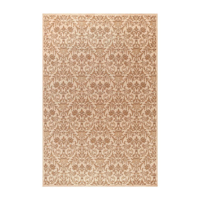 Concord Global Trading Jewel Collection Damask Area Rug