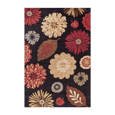 Concord Global Trading Jewel Collection Kaleidoscope Area Rug