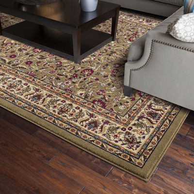 Concord Global Trading Jewel Collection Kashan Area Rug