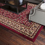 Concord Global Jewel Collection Kashan Rectangular Indoor Rugs