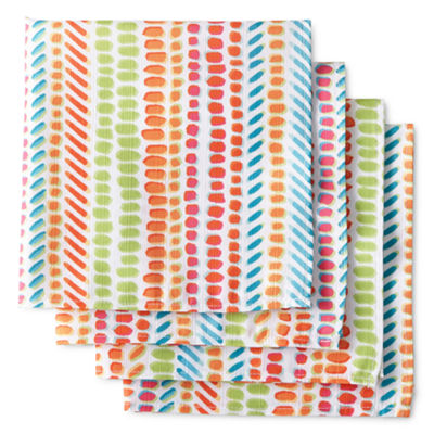 Outdoor Oasis Speckles 4-pc. Napkins