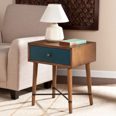 Modern Life Furniture Blue Accent Table