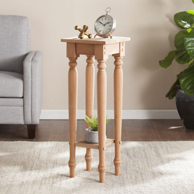 Southlake Furniture Unfinished Wood Accent Table