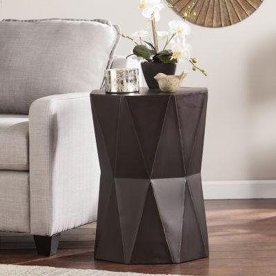 Southlake Furniture Antique Black Accent Table