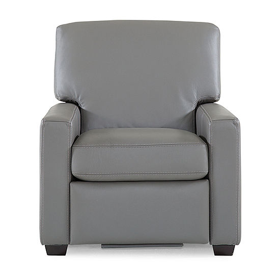 Leather Possibilities Quick Ship Track Arm Recliner