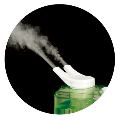 SPT SU-4010G: Dual Mist Humidifier with ION Exchange Filter [Green]