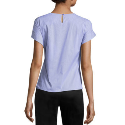 W KNOT FRONT SHIRT